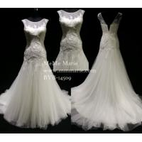 China Elegant Fishtail Sweetheart Applique Wedding Dress Bridal Gown with Illusion Neckline BYB-14509 on sale