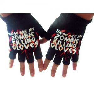 China Fingerless glow glove on sale