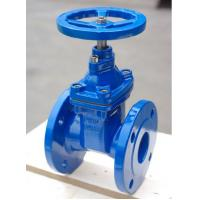 Soft Sealing / Rubber Seat And Wedge Resilient Seated Gate Valve Full Bore