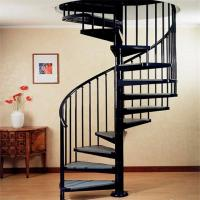 Charmant ... Buy Indoor / Outdoor Powder Coated Black Metal Spiral Staircase Price /  Prefab At Wholesale Prices ...