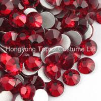 Quality Non Hot Fix Crystal Stone Czech Rhinestone Glass Beads SS16 Siam for sale