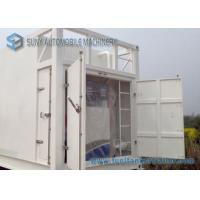 Quality 64000 L Mobile Refuel Station Container Oil Tank Trailer 40HQ Oil Storage Tank Container for sale