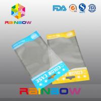 China Self adhesive seal opp head bags , clear plastic stationery packaging bags on sale
