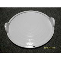 China ECO Friendly Microwave Oven Accessories Plastic Tray With Handle FDA on sale