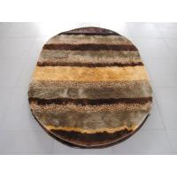 Quality Oval Polyester Shaggy Mixed Shaggy Carpet Stripe Shaggy Rug for sale