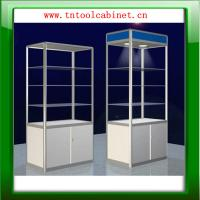 Buy cheap aluminium glass display showcase,display cabinet from wholesalers