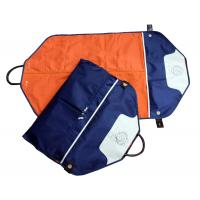 Quality Eco-Friendly Navy Nylon Fabric Suit Garment Bag For Suit Packaging for sale