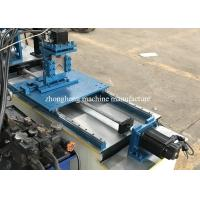 China Slotted Metal Angle Flat Bar Iron Corner Edge Bead Stud And Track Roll Forming Machine Multifunction on sale