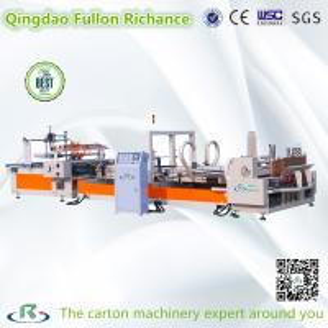 China High Speed ISO9001 Low Price Auto Folder Gluer Carton Box Making Machine on sale