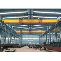 Quality 5 - 30 Ton LH Type Dual Beam Overhead Crane Lifting Equipment With Hook for sale