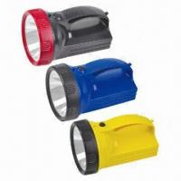 Quality Rechargeable Flashlights with 4V Voltage, 2,400mAh Battery, Outside Battery Charger, Explosion-proof for sale