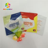 Quality Three Side Sealed Printed Plastic Bags Gummy Candy Packaging Customized With Ziplock for sale