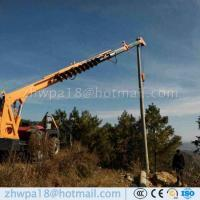 Quality Competitive price Pole Erection Machine Tractor Mounted Crane for sale