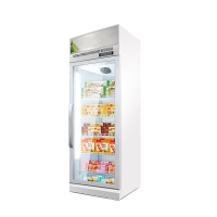 Quality Commercial -22 Degrees Upright Showcase Display Refrigerator Freezer Glass Door for sale