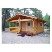 Quality Light Weight Outdoor Wooden House Waterproof For Beach With 650*580cm Size for sale