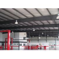 China Steel Framing Car Showroom Building Exhibition Hall With Glass Curtain on sale