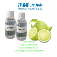 Buy 2017 China New design manufactured natural lemon fruit flavor  100% pure natural lemon aroma used for vape at wholesale prices