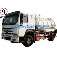 Buy 290HP OEM 6 Wheel Stainless Steel Water Truck with Level Sensor at wholesale prices