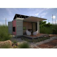 Prefab Modified Steel Shipping Containers Renovated House Design