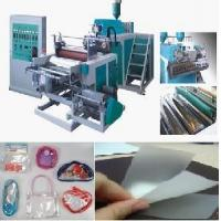Quality Three Layer PE Stretch Film Making Machine With PLC Controlled for sale