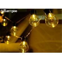Quality Wedding Solar Powered Holiday Lights , Solar Power Led Lights 100 Bulb String Garland for sale