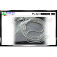 Quality 3.0mm Fiber Rope E Cig Wick With 1.8 Ohm Resistance Low Fuzz For E - Cigs Atomizer for sale