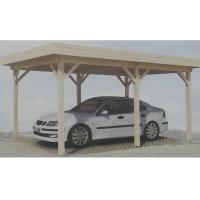 Quality Prefabricated Natural Outdoor Wooden House Carport Gazebo In Pine Wood for sale