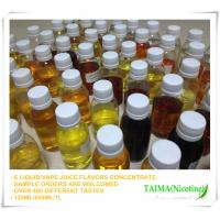 Quality Xi'an Taima tobacco/fruit flavors concentrate for e liquid/125ml; 250ml; 500ml; 1L for sale