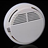 Quality Wireless Cordless Sensor Monitor Smoke Detector Fire Alarm 433MHz for ip camera for sale