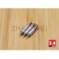 Quality 3V DC 4mm Low Noise Mini Planetary Stepper Gear Motor With Gearboxes for sale