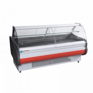 Quality ETL Approved Supermarket Food Meat Display Cooler Sliding Glass Door Display Deli Cabinet Refrigerator for sale