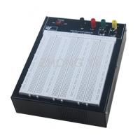 Quality Black Flameresistant Case Powered Breadboard with 2420 Point  White Board for sale