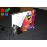 Quality 28mm Depth Thin LED Fabric Light Box On / Off Switch For Art Show And Exhibition for sale