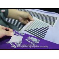 Quality Hot Peel Glossy Heat Transfer PET Film From Screen Printing And Offset Printing Sportswear Tagless Heat Transfer Labels for sale