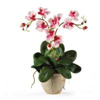 Quality The nature branch of artificial mini orchid for nice home decoration for sale