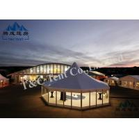Movable Trade Show Tents Flame Retardant With Soft PVC Walls / ABS Walls