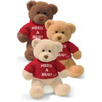 Quality Charming teddy bear plush toy with 1 color logo print T-Shirt for sale