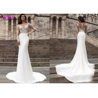 Buy cheap Beach series button back Bohemian wedding dress Mermaid Turkey 2019 bridal gown from wholesalers