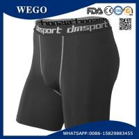 Quality Promotional Short Pants Men Black Sports Workout Fitness Compression Tights Base Layer Shorts for sale