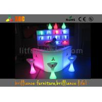 Buy cheap LED Lighting Furniture , bar counter for Events & Party from Wholesalers