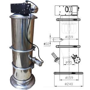 Quality Transport Pneumatic Vacuum Conveyor For Powder Granules Qvc Series for sale