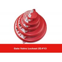 Quality 127mm  - 165mm Chemical Resistance Impact Safety Gate Valve Lockout for sale