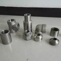 Quality ISO Duplex Stainless Steel Pipe Fittings MSS SP79 83 95 97 Plywood Case Packing for sale