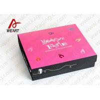 Quality Foladable Flat Large Decorative Gift Boxes With Lids for sale
