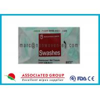 China Disposable Hand Antibacterial Wet Wipes , Alcohol Free Hand Wipes Benzalkonium Chloride on sale