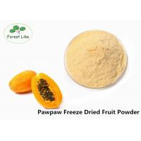 China Anticancer Effect PawPaw Freeze Dried Fruit Powder Pure Natural on sale