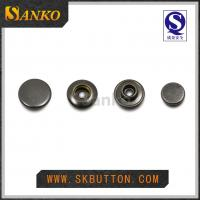Buy 2016 new design metal anti silver snap button for garments in high quality at wholesale prices