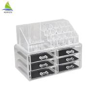 Quality Frosted Acrylic Jewelry Display Custom Clear Transparent Acrylic Jewelry Box for sale