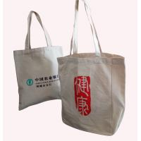 Quality Promotional 100% Cotton Bag / Recyle Durable Shopping Bag Customized Shape And Logo for sale