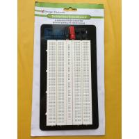 Quality Aluminum Backing Solderless Circuit Board , White Breadboard Circuits Projects for sale